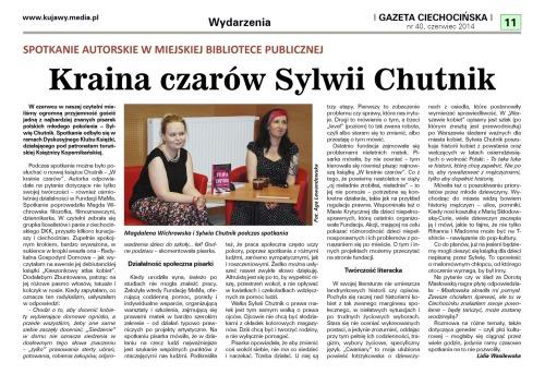Sylwia Chutnik - GCnr40